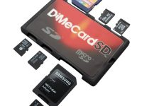 Suport carduri SD și microSD