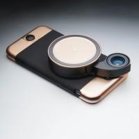 Ztylus carcasă și lentile iPhone – gold rose – ediție limitată