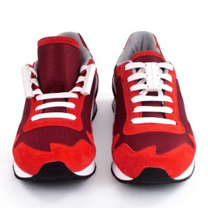 Red Shoes front with Zubits