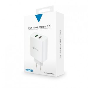 gallery-35172-359074-view-Fast-Travel-Charger-with-Quick-Charge-3.0-and-Smart-Port-White
