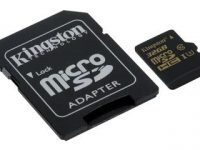 microSDHC 32GB Kingston Class U3 UHS-I R/W:90/45 MB/s + SD Adaptor